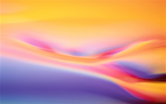 Wallpaper Abstract background, the warm colors of the curve