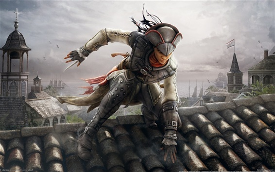 Wallpaper Assassin's Creed 3: Liberation