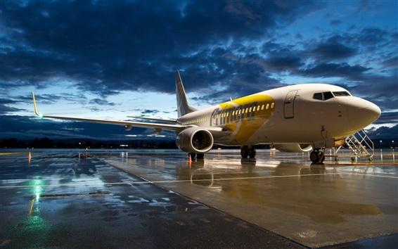 Обои Авиация аэропорту самолет Boeing 737