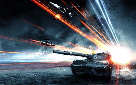 Wallpaper Battlefield 3: Armored Kill