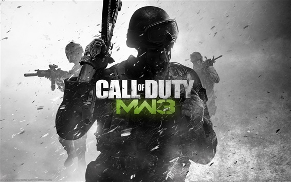 Wallpaper Call of Duty: MW3 hot game