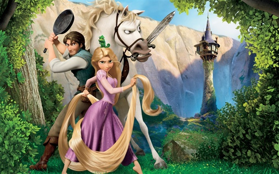 Wallpaper Disney movie Tangled