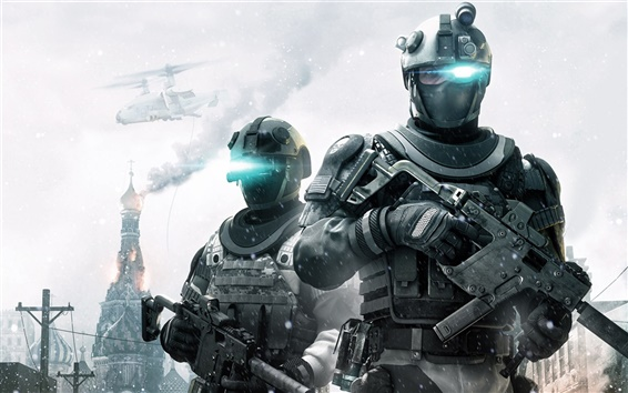 Wallpaper Ghost Recon for Wii