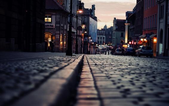 Fond d'écran Nuit rues de la ville