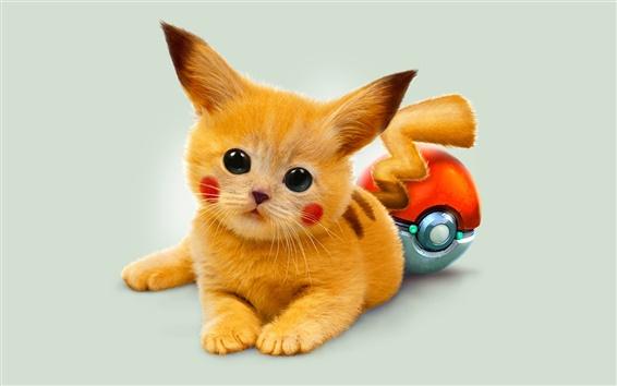 Fond d'écran Dessin animé Pokémon Pikachu