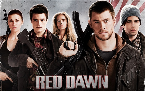 Wallpaper Red Dawn 2012