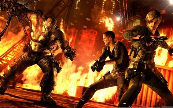 Fondos de pantalla Resident Evil 6 juego de XBOX