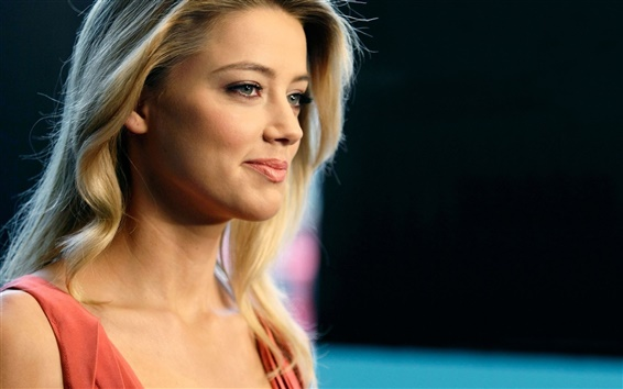 Wallpaper Amber Heard 07