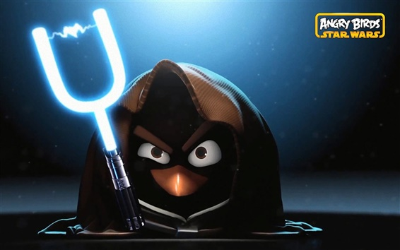 Wallpaper Angry Birds: Star Wars HD