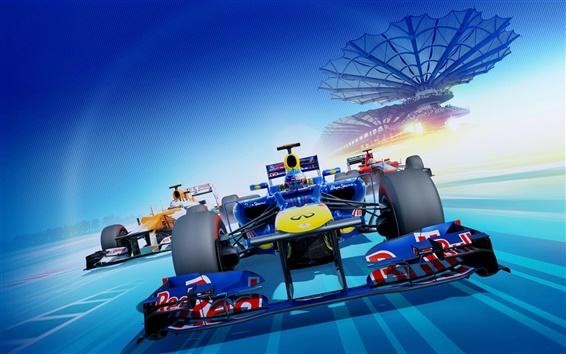 Обои F1 2012