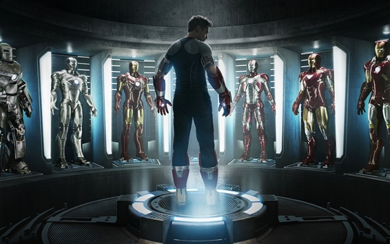 Fondos de pantalla Iron Man 3 HD
