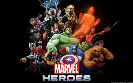 Papéis de Parede Marvel Heroes