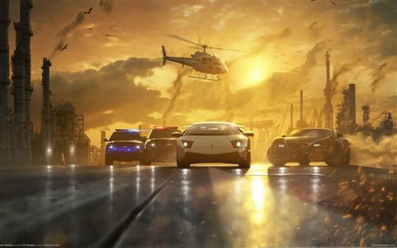 Обои Необходимость Speed: Most Wanted игру широкий