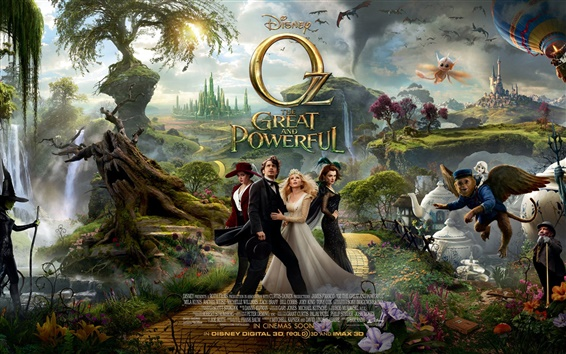Wallpaper Oz The Great and Powerful 2013