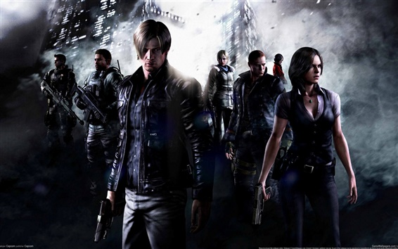 Wallpaper Resident Evil 6 HD