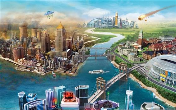 Wallpaper SimCity