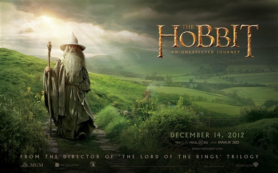 Wallpaper The Hobbit: An Unexpected Journey HD movie