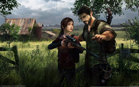 Wallpaper The Last of US HD