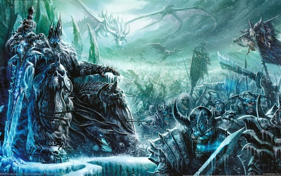 Wallpaper World of Warcraft: Wrath of the Lich King
