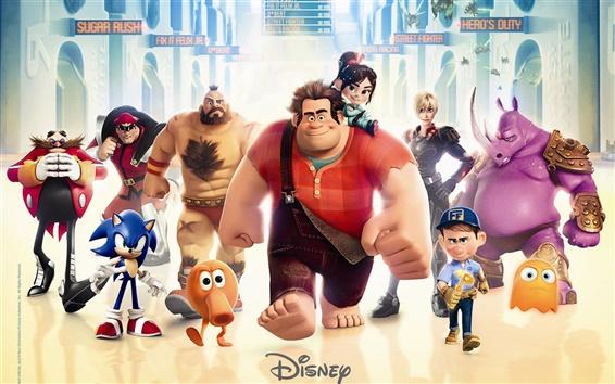 Papéis de Parede reck-It Ralph, filme da Disney 2012