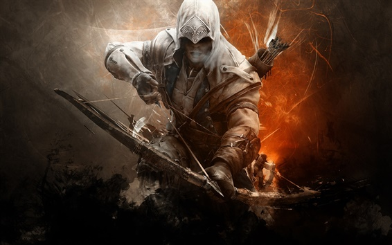 Wallpaper Assassin's Creed 3, archer
