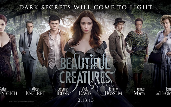 Fondos de pantalla Beautiful Creatures 2013 de cine