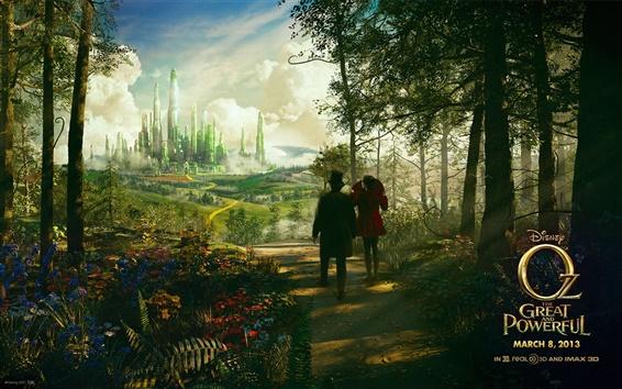 Papéis de Parede Filme da Disney, Oz O Grande e Poderoso