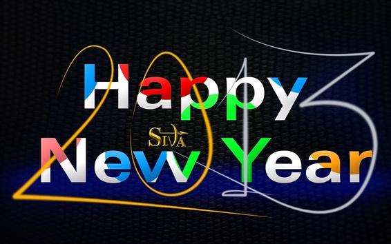 Wallpaper Happy New Year 2013, Creative Art