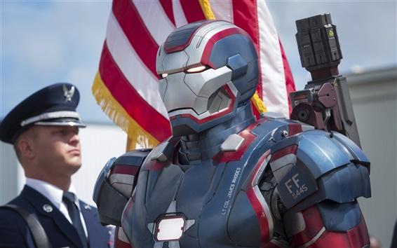 Wallpaper Iron Man 3, new armor