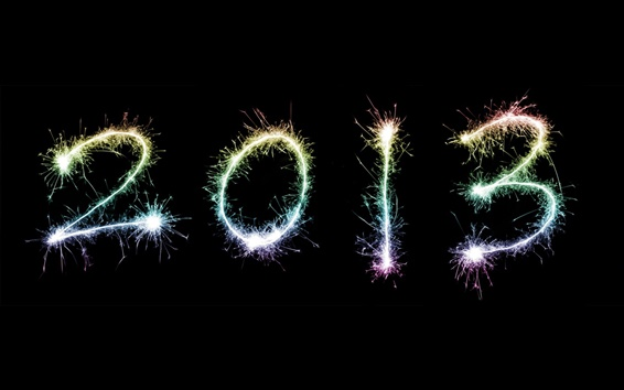 Wallpaper New Year 2013