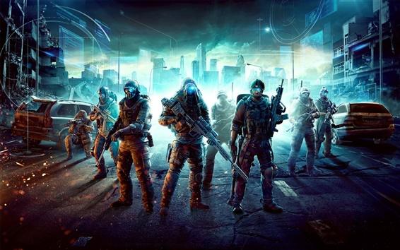 Hintergrundbilder PC-Spiel Ghost Recon: Future Soldier