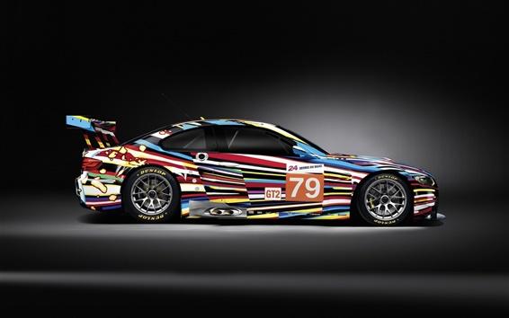Обои Спортивный автомобиль, BMW M3, красочные цвета