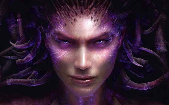 Fond d'écran StarCraft II: Heart of the Swarm