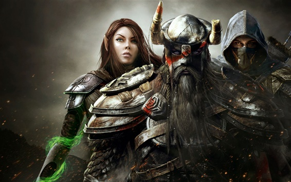 Wallpaper The Elder Scrolls Online