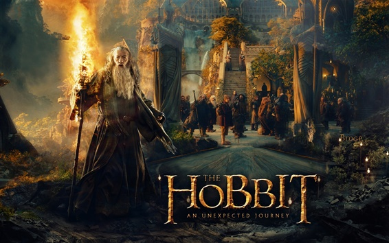 Wallpaper The Hobbit: An Unexpected Journey