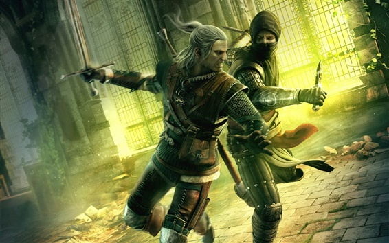 Fond d'écran The Witcher 2: Assassins of Kings HD