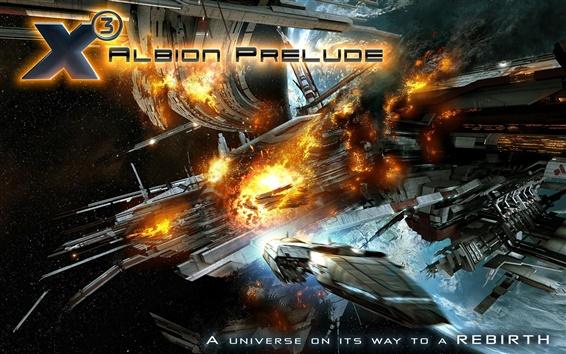 Fond d'écran X3: Albion Prelude