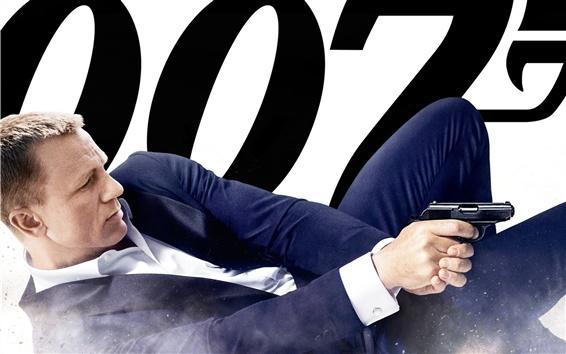 Fond d'écran 2012 films, 007 Skyfall