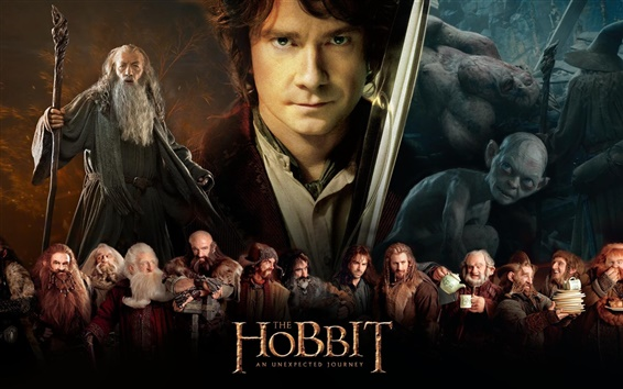 Wallpaper 2012 movie, The Hobbit: An Unexpected Journey