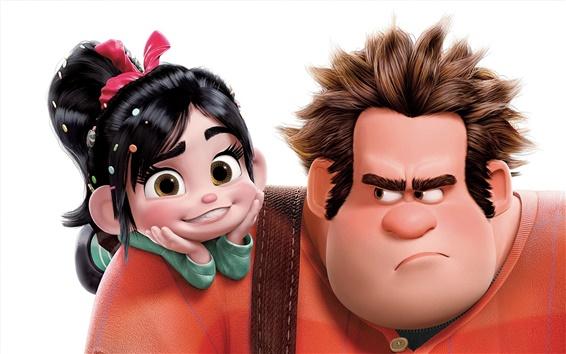 Fondos de pantalla Película de dibujos animados, Wreck-It Ralph