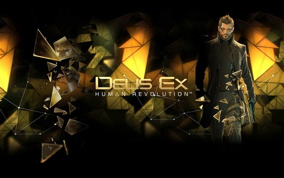 Wallpaper Deus Ex: Human Revolution HD