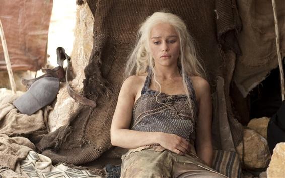 Fondos de pantalla Emilia Clarke en el Juego de Tronos
