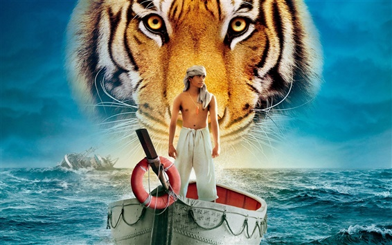 Wallpaper Life of Pi, 2012 movie