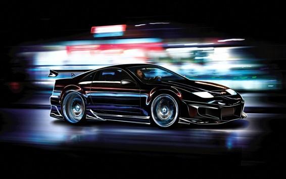 Fond d'écran Nissan 300zx voiture de sport