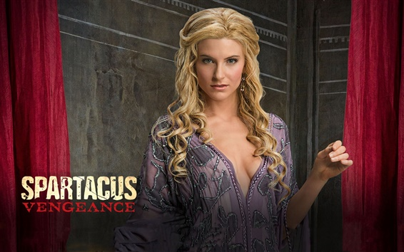 Wallpaper Spartacus: Vengeance, Viva Bianca