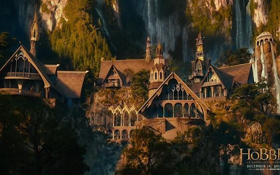 Fond d'écran Bilbo le Hobbit: Un voyage inattendu scène film,