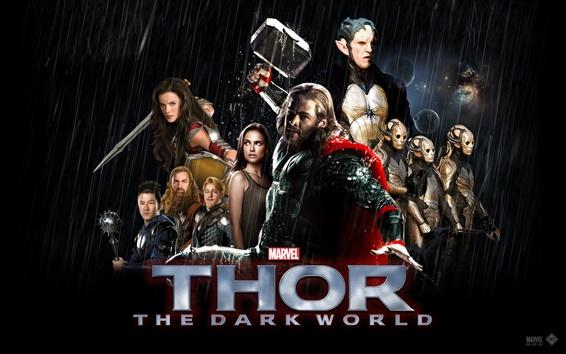 Fond d'écran Thor: Le Monde des Ténèbres