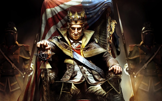 Wallpaper Assassin's Creed III: Tyranny of King Washington