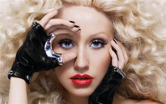 Fondos de pantalla Christina Aguilera 09
