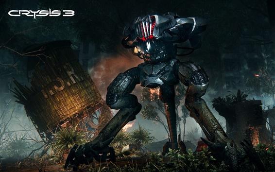 Wallpaper Crysis 3, Machine monster